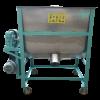 máy trộn nguyên liệu nằm ngang 150kg/mẻ inox